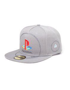 Photo du produit SONY PLAYSTATION CASQUETTE HIP HOP SNAP BACK SILVER LOGO Photo 1