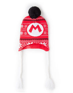 SUPER MARIO BONNET DE SKI SUPER MARIO BADGE LAPLANDER