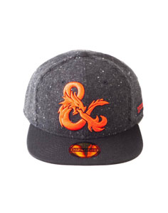 DUNGEONS & DRAGONS CASQUETTE SNAPBACK AMPERSAND