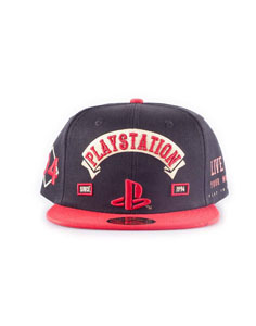 SONY PLAYSTATION BIKER CASQUETTE HIP HOP SNAP BACK LOGO