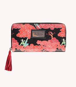 Photo du produit DISNEY PORTE-MONNAIE FEMME ZIP AROUND MULAN Photo 1