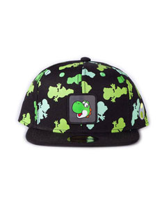 NINTENDO CASQUETTE SNAPBACK YOSHI ALL OVER PRINT