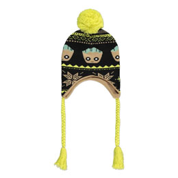 GUARDIANS OF THE GALAXY BONNET DE SKI GROOT XMAS LAPLANDER