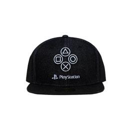 Sony PlayStation casquette Snapback Denim Symbols