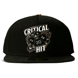 CASQUETTE CRITICAL HIT DUNGEONS AND DRAGONS