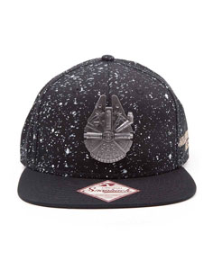 STAR WARS CASQUETTE HIP HOP SNAP BACK MILLENNIUM FALCON