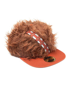CASQUETTE STAR WARS HIP HOP CHEWBACCA FUR & PATCH ARTWORK