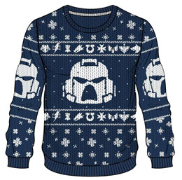 WARHAMMER 40K SWEATER CHRISTMAS SPACE MARINES