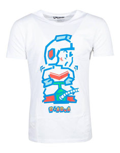 DIG DUG T-SHIRT PUMP MAN
