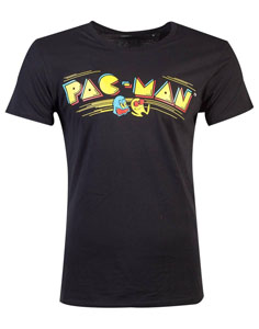 PAC-MAN T-SHIRT RETRO LOGO