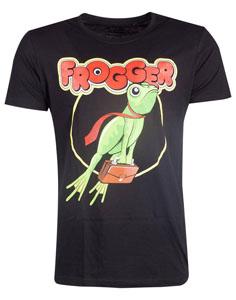 FROGGER T-SHIRT RETRO LOGO