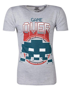 SPACE INVADERS T-SHIRT GAME OVER