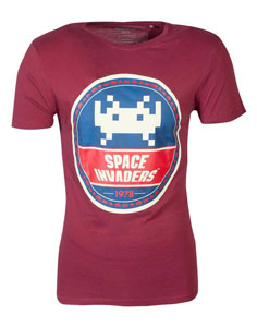 SPACE INVADERS T-SHIRT ROUND INVADER
