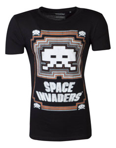 SPACE INVADERS T-SHIRT GLOWING INVADER
