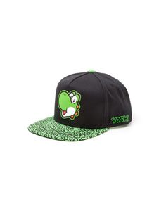Photo du produit NINTENDO CASQUETTE HIP HOP SNAPBACK YOSHI RUBBER PATCH Photo 1