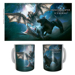 Monster Hunter mug céramique Rathalos & Nargacuga