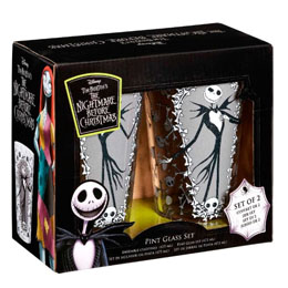 Photo du produit COFFRET DE 2 VERRES L'ETRANGE NOEL DE MR JACK Photo 1