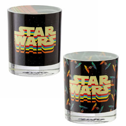 STAR WARS PACK 2 VERRES RETRO VEHICLES