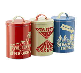Stranger Things boîtes de rangement Silhouette