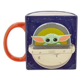 STAR WARS THE MANDALORIAN MUG COOKIE HOLDER THE CHILD DRINK TIME