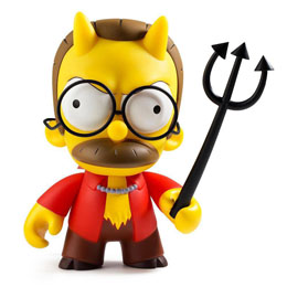 SIMPSONS FIGURINE DEVIL FLANDERS 18 CM