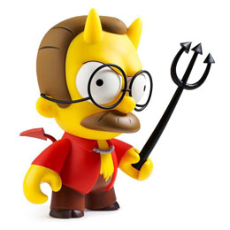 Photo du produit SIMPSONS FIGURINE DEVIL FLANDERS 18 CM Photo 2