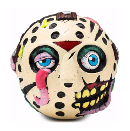 VENDREDI 13 BALLE ANTI-STRESS MADBALLS JASON VOORHEES