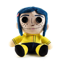 CORALINE PELUCHE PHUNNY BUTTON EYES CORALINE 18 CM