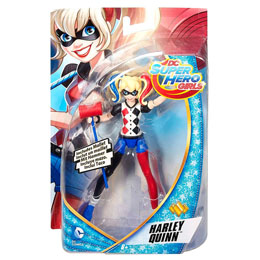 DC SUPER HERO GIRLS FIGURINE HARLEY QUINN