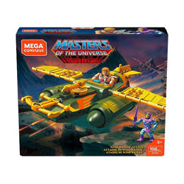 MASTERS OF THE UNIVERSE JEU DE CONSTRUCTION MEGA CONSTRUX PROBUILDER ATTAQUE DU WIND RAIDER