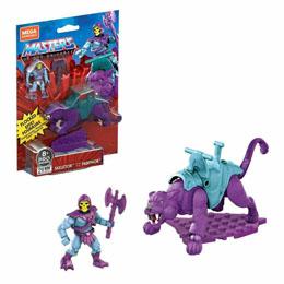 Masters of the Universe jeu de construction Mega Construx Probuilders Skeletor & Panthor