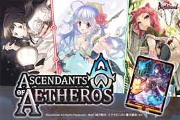 BUSHIROAD ASCENDANTS OF AETHEROS - CARD GAME SET (ANGLAIS)