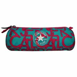 CONVERSE TROUSSE CYLINDRIQUE SCRUMBLE TURQUOISE