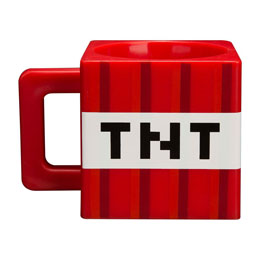 MINECRAFT MUG PVC TNT