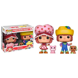 PACK 2 FUNKO POP! STRAWBERRY SHORTCAKE & HUCKLEBERRY PIE EXCLUSIVE