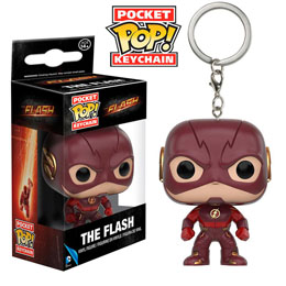 PORTE CLE POCKET POP DC COMICS FLASH