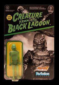 UNIVERSAL MONSTERS REACTION FIGURINE CREATURE FROM THE BLACK LAGOON GITD EXCLUSIVE