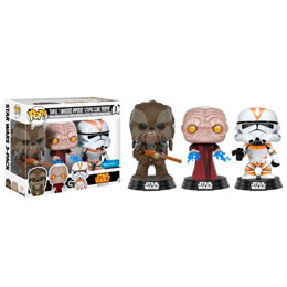 PACK FUNKO POP! TARFFUL, EMPEROR & UTAPAU