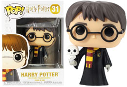 HARRY POTTER POP! MOVIES VINYL FIGURINE HARRY WITH HEDWIG 9 CM