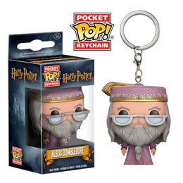 PORTE CLE POCKET POP HARRY POTTER DUMBLEDORE