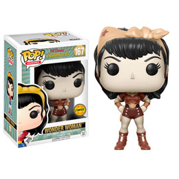 FUNKO POP! DC COMICS BOMBSHELLS WONDER WOMAN CHASE