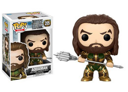 FUNKO POP JUSTICE LEAGUE AQUAMAN (ARMORED)