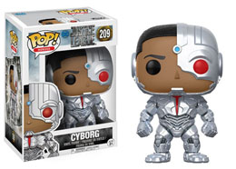 FUNKO POP JUSTICE LEAGUE CYBORG