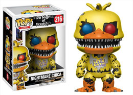 FIVE NIGHTS AT FREDDY'S POP! GAMES VINYL FIGURINE NIGHTMARE CHICA