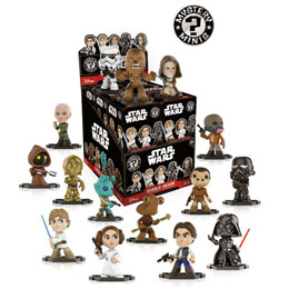 12 MYSTERY MINI STAR WARS + PRESENTOIR