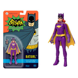 Photo du produit FIGURINE ACTION FIGURE BATMAN 1966 BATGIRL10 CM