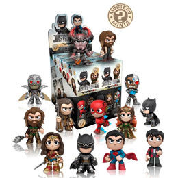 12 MYSTERY MINIS MARVEL JUSTICE LEAGUE + PRESENTOIR