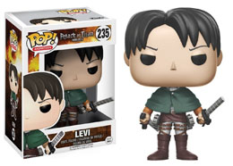 FIGURINE FUNKO POP ATTACK ON TITAN LEVI ACKERMAN