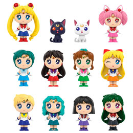 12 MYSTERY MINIS SAILOR MOON SERIES 2 + PRESENTOIR