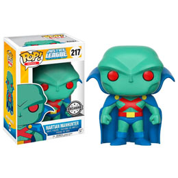 FUNKO POP DC COMICS JUSTICE LEAGUE MARTIAN MANHUNTER EXCLUSIVE